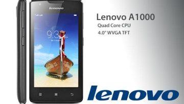 ทรูมูฟ เอช ให้คุณคุ้มที่สุดในจักรวาล สมาร์ทโฟนราคาเบาๆ True Lenovo A1000 พร้อมโบนัสโทรและเน็ต