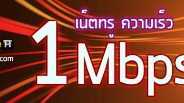 โปรเน็ตทรู 1Mbps ไม่ลดสปีด ไม่จำกัด หรือ 1,024Kbps เล่นเน็ตสะใจ