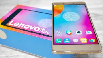เป็นเจ้าของสมาร์ทโฟน Lenovo K6 Note จากทรูมูฟ เอช ในราคาถูกสุดๆ เพียง 1,990 บาท