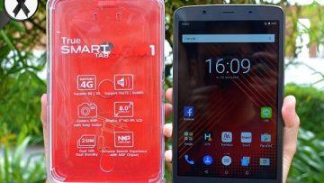 ทรูมูฟ เอช มอบส่วนลดค่าเครื่อง True Smart Tab 4G M1 พร้อมเน็ตไม่ลดความเร็ว 4Mbps.