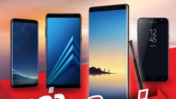 เก่าไปใหม่มา ในราคาประหยัด!!! ทรูมูฟ เอช ให้คุณนำ Samsung Galaxy เครื่องเดิม มาแลกซื้อ Samsung Galaxy เครื่องใหม่ ในราคาส่วนลดสุดพิเศษ